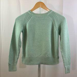 GAP KIDS Woven Sweater SZ L (10)